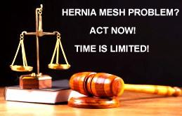 Hernia mesh Cliff Roberts Attorney