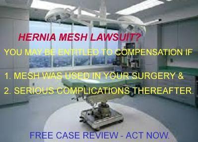 hernia mesh lawsuit Cliff Roberts